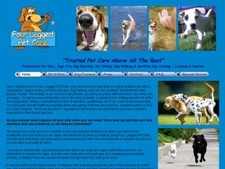 Four Legged Pet Care Miami
