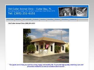 Old Cutler Animal Clinic Miami