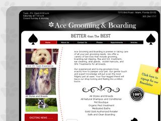 Ace Dog Grooming   Pet Supplies | Boarding