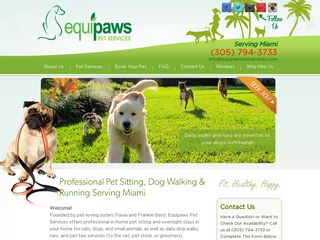 Equipaws Pet Services | Boarding