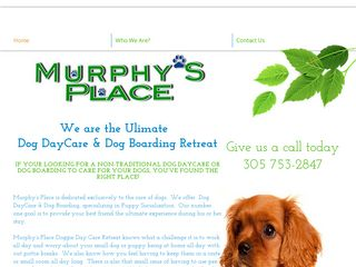 Murphys Place for Dogs | Boarding