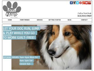 Four Paws Pet Care | Boarding