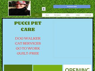 Pucci Pet Care | Boarding