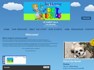 In Home Pet Services of Forest Hills | Boarding