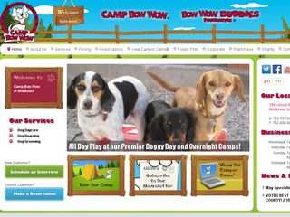 Camp Bow Wow Dog Boarding Middlesex | Boarding