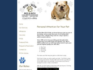 Bow Wow Bed & Bath Middletown