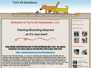 Toris K9 Adventures | Boarding