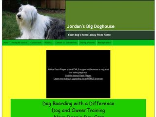 Jordans Big Dog House | Boarding
