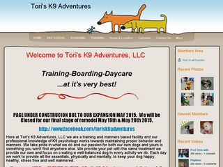 Toriis K9 Adventures | Boarding
