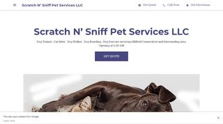 Scratch N Sniff Pet Services LLC Milford