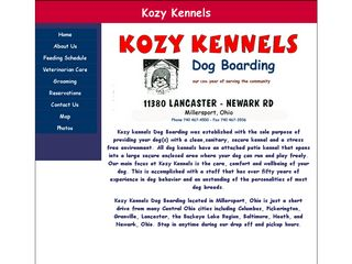 Kozy Kennel | Boarding