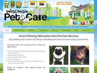 Wisconsin Pet Care | Boarding