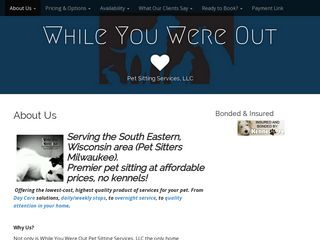 While You Were Out Pet Sitting Services LLC Milwaukee