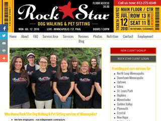 Rock Star Dog Walking  Pet Sitting LLC Minneapolis