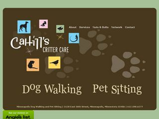 Cahills Critter Care Minneapolis