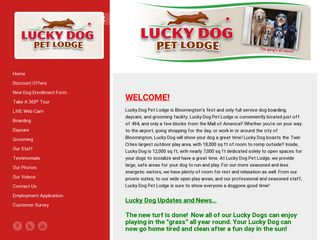 Lucky Dog Pet Lodge | Boarding
