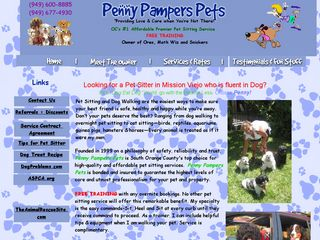 Penny Pampers Pets Mission Viejo