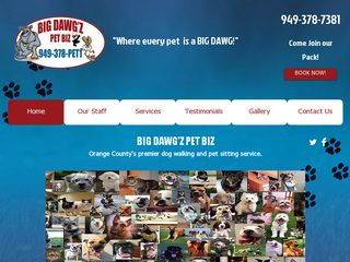 Big Dawgz Pet Biz | Boarding