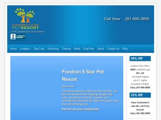 Fondren 5 Star Pet Resort Missouri City
