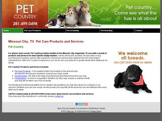 Pet Country Missouri City