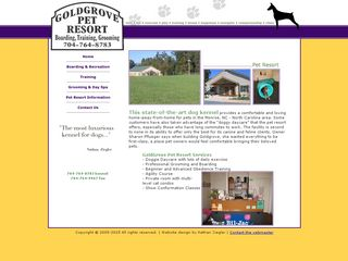 Goldgrove Pet Resort Monroe