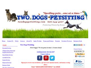 Two Dogs Petsitting Monrovia