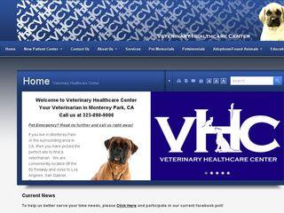 Veterinary Healthcare Center Monterey Park