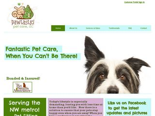 Pawtastic! Pet Care LLC Monticello