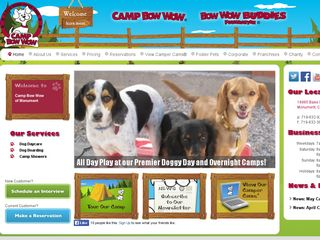 Camp Bow Wow Dog Boarding Monument | Boarding
