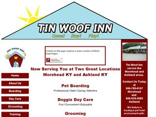 Tin Woof Inn | Boarding