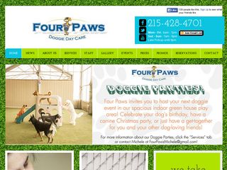 Four Paws Doggie Daycare | Boarding