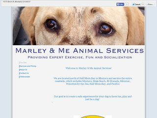Marley & Me Animal Services Moss Beach
