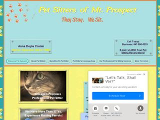 Pet Sitters of Mt Prospect Mount Prospect
