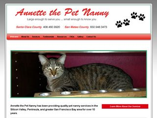 Annette the Pet Nanny Mountain View