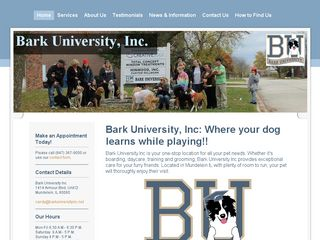 Bark University Incorporated | Boarding
