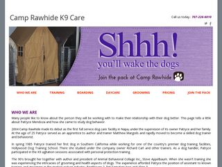 Camp Rawhide | Boarding