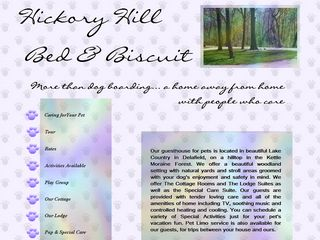 Hickory Hill Bed   Biscuit of Delafield | Boarding