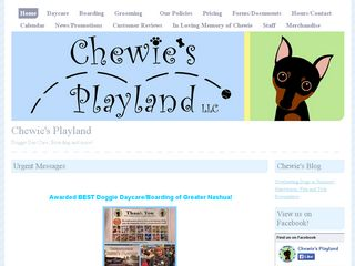 Chewies Playland | Boarding