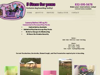 Five Stars for Paws Needville