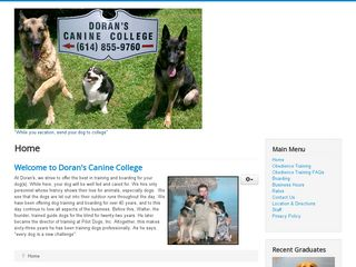 Dorans Canine College New Albany