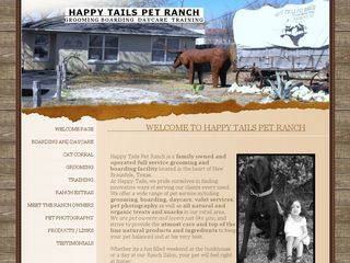 Happy Tails Pet Ranch | Boarding