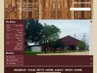 Jins Bed Biscuit Pet Resort New Braunfels