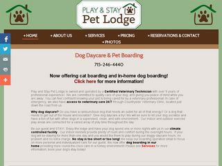 Play  Stay Pet Lodge New Richmond