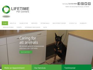 Lifetime Pet Center New Richmond