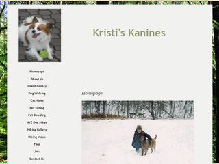 Kristis Kanines New York