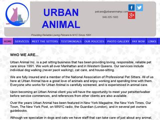 Urban Animals New York