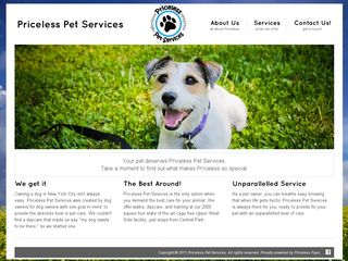 Priceless Pet Services | Boarding