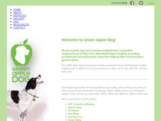 Green Apple Dog New York