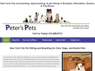 Peters Pets | Boarding