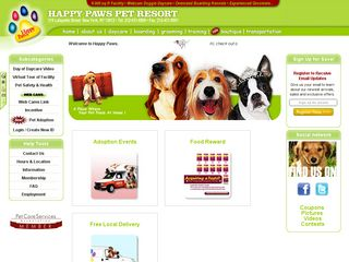 Happy Paws Pet Resort | Boarding